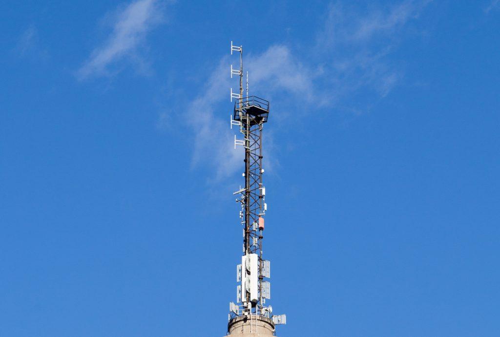 Pasilan linkkitorni antennas